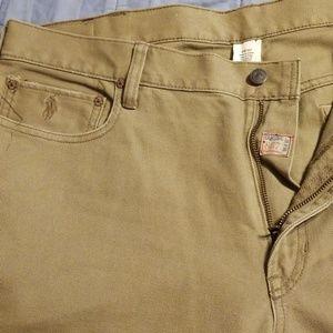 Mens polo jeans classic cut